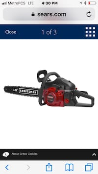 2 Craftsman chainsaws brand new with cases Austin, 78723