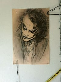 Heath Ledger as Joker sketch portrait Albuquerque, 87110