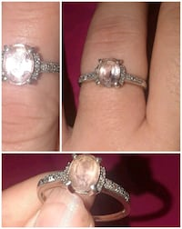 Sterling Silver Pink Ice Ring China Grove, 28023