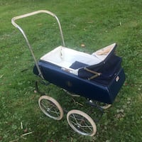 ANTIQUE ENGLISH PRAM TRI-ANG LINE BROS LTD BABY DOLL CARRIAGE STROLLER BUGGY Hanover, 07981