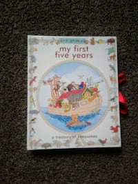 Baby book from 0-5 years
