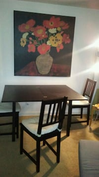 Ikea brown table n chairs Woodlawn, 21244
