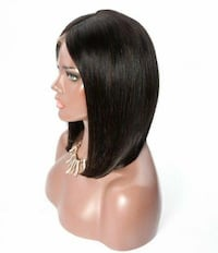 women's brown hair wig 40 km