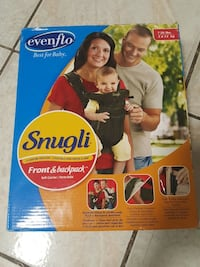 Baby carrier SNugli front and backpack carrier box Brampton, L6V 3H2