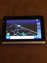 black Rand McNally GPS Antioch, 60002