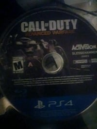 Call of Duty Advanced Warfare PS4 game disc Reading, 19604