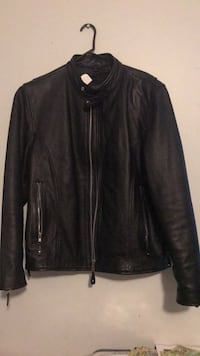 Street and steel leather motorcycle jacket size large Vienna, 22180
