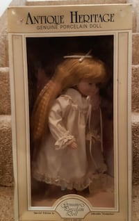 """NEW 15"""" Porcelain Doll In Box special edition Adorable memories Brand New in Box Pick-up in Newmarket"""