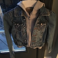 Girls size 7 jean jacket  Centreville, 20120