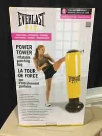NEW Everlast inflatable punching bag  Surrey, V3T 2R5