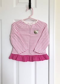 Gymboree kitty cat peplum top size 18-24 months- worn once Mississauga, L5M 0C5