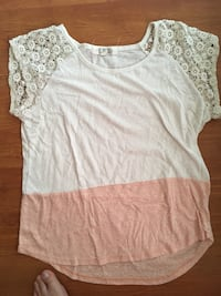 Pink Rose T-Shirt Courtice, L1E