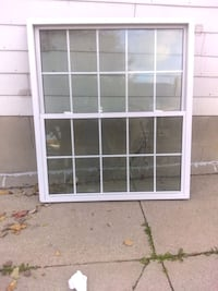 """Traco Double Pane Framed Window 62"""" Height x 52"""" wide"""