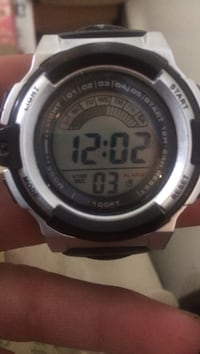 gray and black digital watch Pelham, L3B 5N5