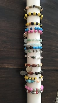 Diffuser bracelets - lava beads  Calgary, T2X 2A5