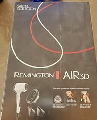 Remington Air3D Hair Dryer with Low Noise Motor Salon Collection White Toronto, M5J 0A7