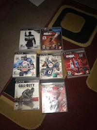 PS3 games & Ps3 Controllers $5 each  Midwest City, 73110
