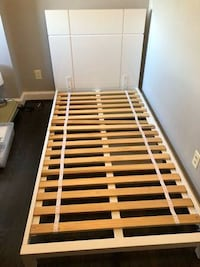 white and brown wooden bed frame Chevy Chase, 20815