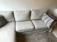 EKTORP 3-seters sofa m/sjeselong 6240 km