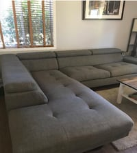 Zeke 2 piece linen right facing sectional Toronto, M1B 5C9