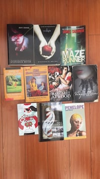 assorted-title book lot Vancouver, V5T 2A3