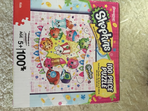 Puzzles and headbanz game from a smoke free & pet free home