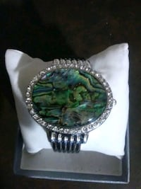 Genoa watch/bangle bracelet with crystals Taylorsville, 40071