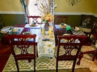Cherry color Dinning room set with 4 chairs Perry Hall, 21128