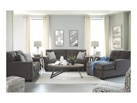 Selling Gray Sofa & Chaise