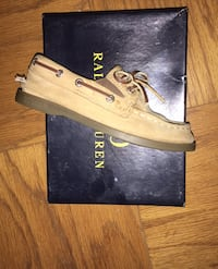 Toddler Ralph Lauren Polo canvas shoes 9 1/2
