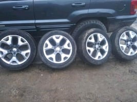 2016 Jeep Compass Tire set