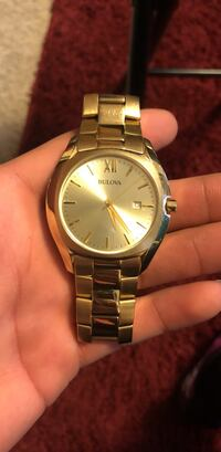 Gold Bulova watch Bowling Green