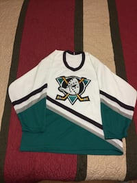 Mighty Ducks of Anaheim NHL Hockey Jersey size Large