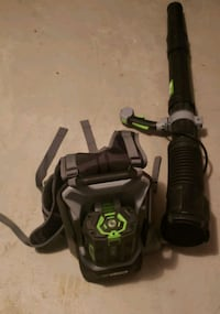 EGO Cordless Backpack Blower 165mph 600cfm. Used only once. Gaithersburg, 20879