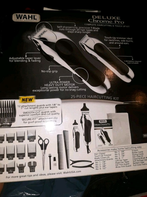 Wahl barber machine set