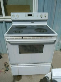 Maytag glass top stove Billings