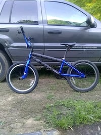 blue and black BMX bike Dalton, 30721