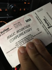 Six flags magic mountain tickets (2) Lancaster
