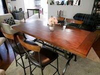 Nice wood table and 4 chairs Concord, 28025