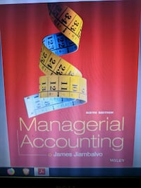 Managerial Accounting 6th Edition  Brampton, L6T
