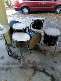 Black and gray drum set Fayetteville, 28311
