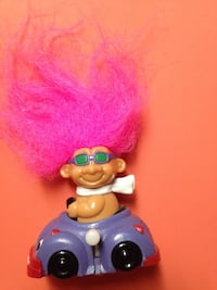 Vintage Russ Troll Small Wind Up Car Original Sticker On Bottom Wind Up Works & Car Moves Louisville, 40213