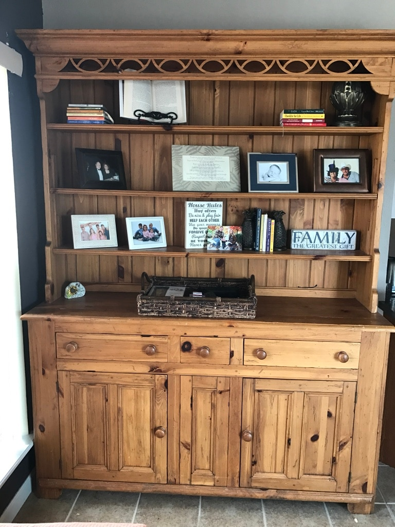 used ethan allen hutch super cute and versatile for sale in festus rh us letgo com