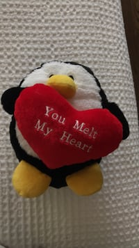 Cute love penguin plush  Toronto, M2R 3V6
