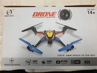 Drone with remote camera sd card batteries extra blades Victoria, V8T 2G1