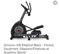 black Schwinn 430 elliptical trainer Mercedes, 78570