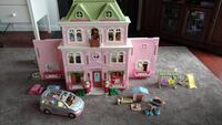 Fisher Price dollhouse plus extra rooms