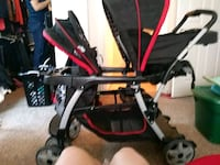 baby's black and red stroller San Antonio, 78208