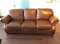 Brown Leather Sofa/Coach Washington, 20024