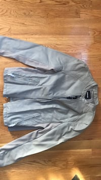 minus the leather express jacket, grey, tags still on size M Waltham, 02453